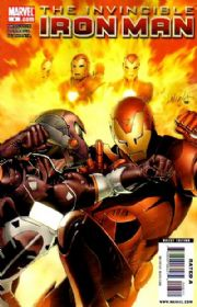Invincible Iron Man #6 Larroca Cover (2008) Marvel comic book